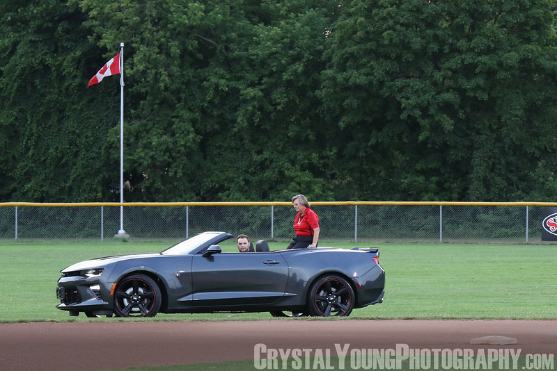 Toronto Maple Leafs at Brantford Red Sox July 29, 2016