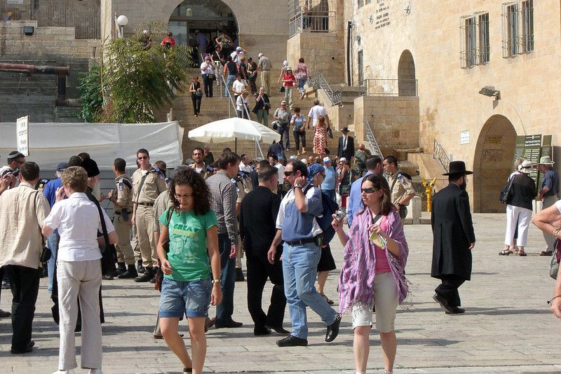 49-In the Western Wall Plaza
