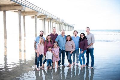 Scripps Pier Family Photos (Jordan's Family) | La Jolla Family Photographer
