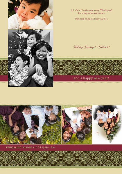Fresh Modern Photo Cards, Business Cards and Invitations for the Holidays