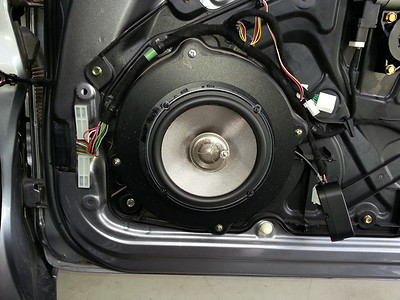 2004 Mazda RX8 Front Door Speaker Installation