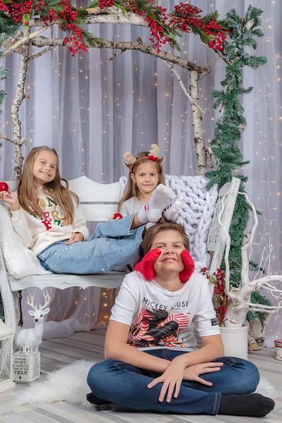 Алекс,Вики,Кари Коледа 2020