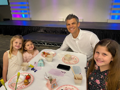 Daddy and Daughter Tea
