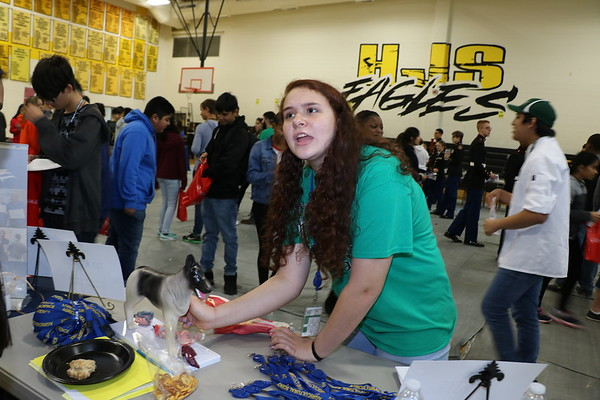 HJS hosted 3rd Annual College and Career Fair