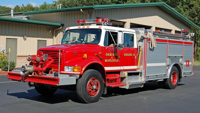 Engine 13  1992 International/Farrar  750/800