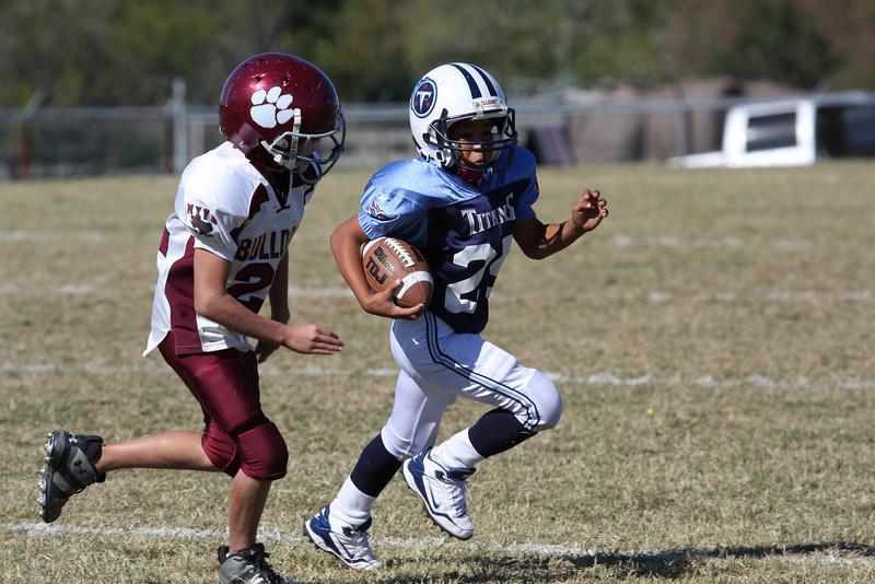 Bulldogs Vs Titans(Juniors) - (MYFA) Magnolia Youth Football Association