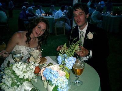 Susannah and Todd June 10, 06