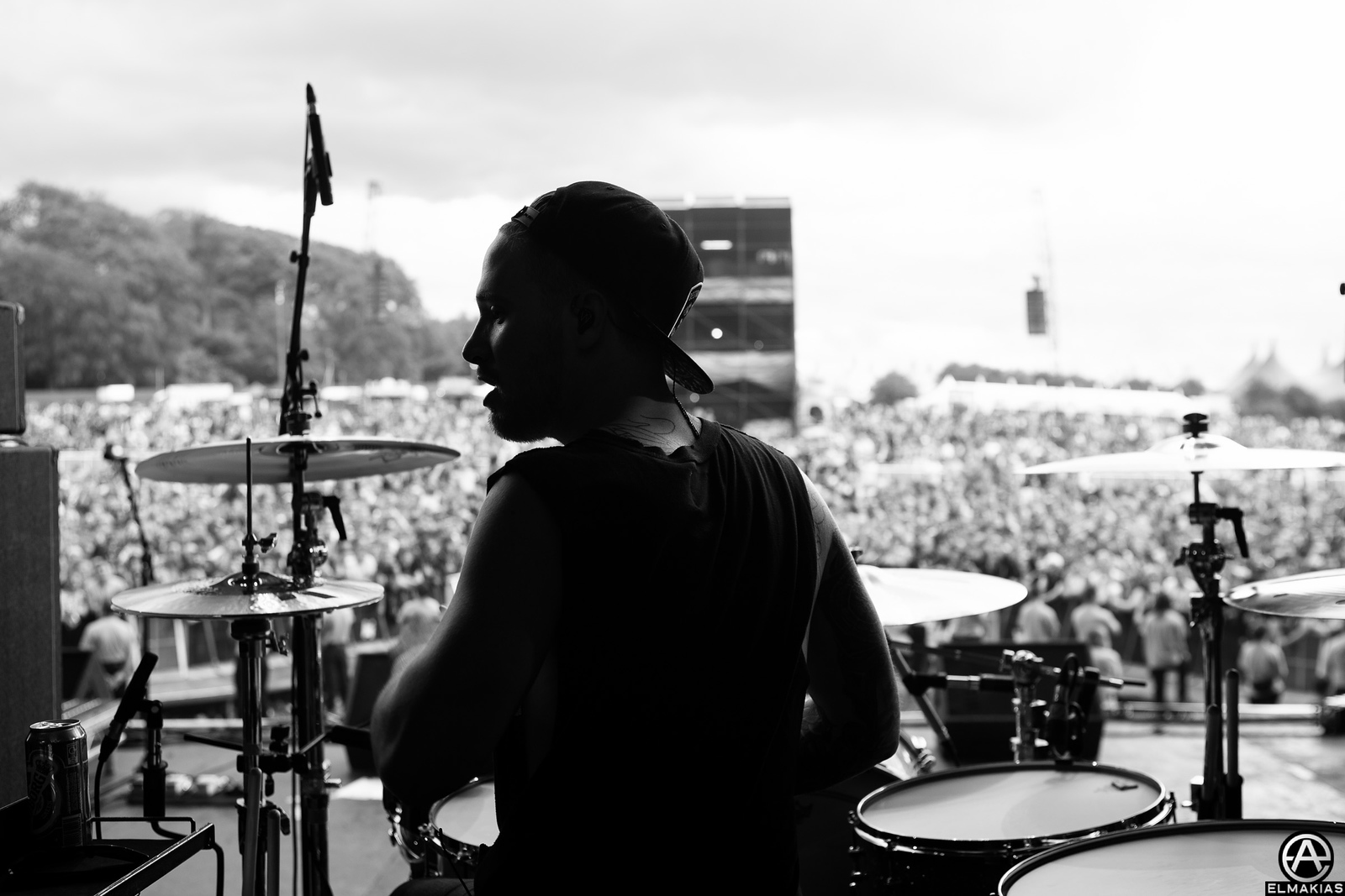 Gabe of Sleeping With Sirens