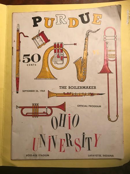 OU-PU 1964 Program