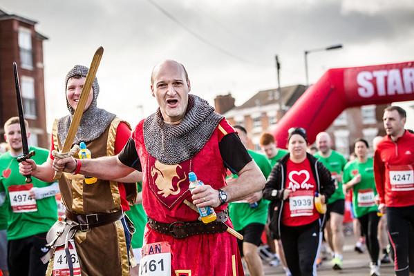 British Heart Foundation Warwick Half Marathon 2014