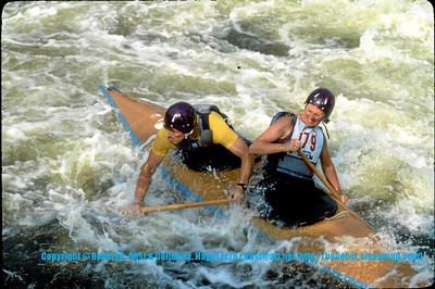 AP WWC: 1980's Slalom Whitewater Races National and International Favorites or FAVS