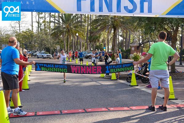 Ortega River Run Finish 2017