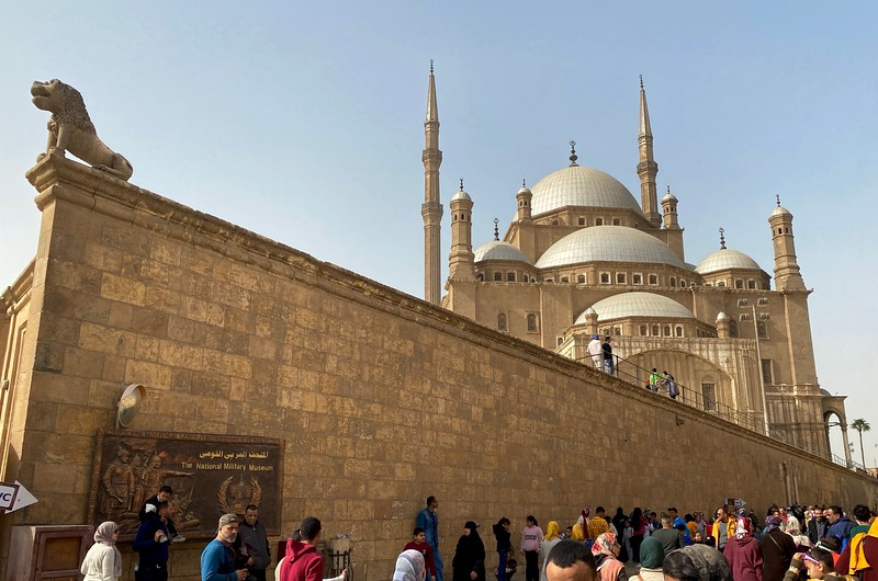 The most visible mosque in Cairo, Mosque of Muhammad Ali, is one of the newer mosques in the city, built in the first half of the 19th century.