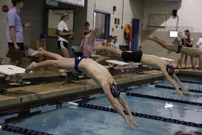 JV Swimming vs Thayer