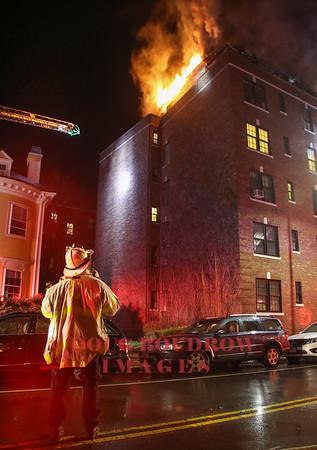 Cambridge, MA - 3rd Alarm, 50 Follen Street, 3-5-18