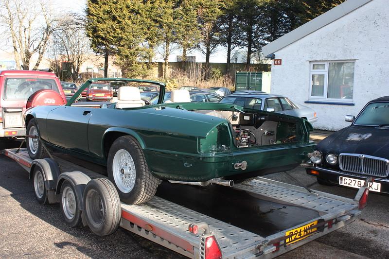 Jaguar Racing Green