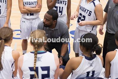 Girls Basketball: Warren County vs. John Champe 2.19.15 (by Chas Sumser)