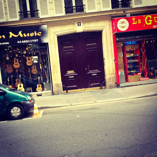 The street in Paris with all the guitar shops.jpg