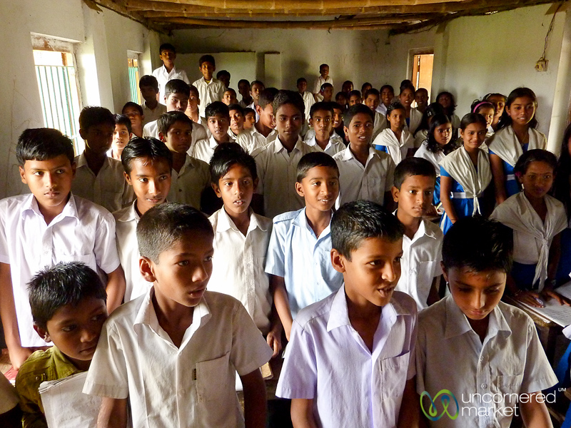 Classroom Full of Eager Students - Nalbata, Bangladesh