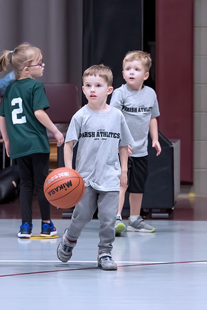 2019 - Benjamin 4yr Old Basketball