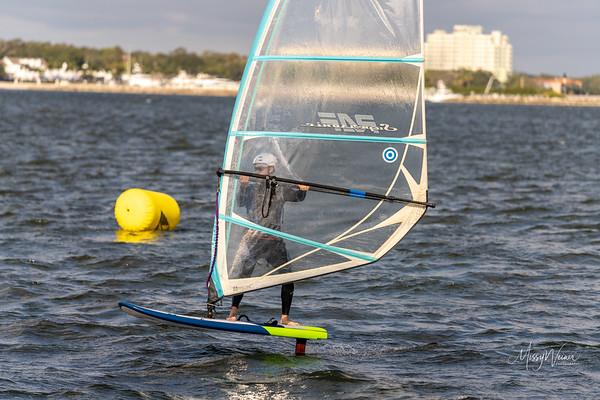 01.09.2021 Windsurfer at the Regatta