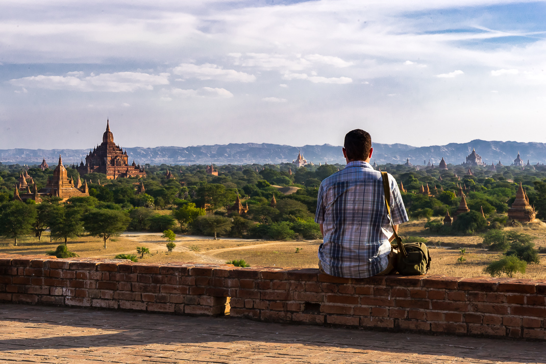 Julian Viewing Bagan Temples