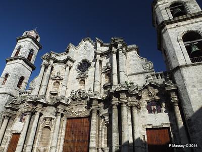Plaza De la Catedral, Havana 31 Jan 2014