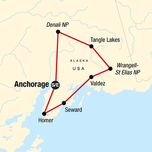The best Alaska Tour of Photography