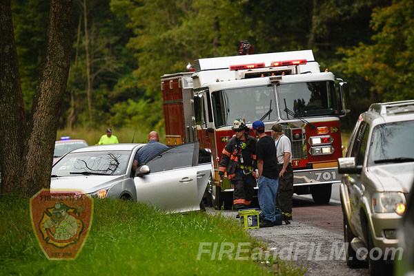 Schuylkill County - New Castle Twp. - MVA / Landing Zone - 09/05/2017