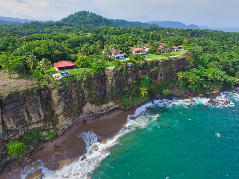 Luxury Ocean View homes on a cliff side in tango mar, Costa Rica