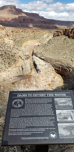 Hurricane Rim / Dam Trail