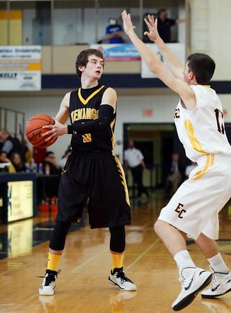 2015 District IX A Boys Basketball Consolation Elk County Catholic vs. Venango Catholic