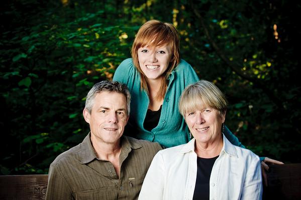 Jan + Mark = Sarah (Family Photography, Nisene Marks Forest, Aptos, California)