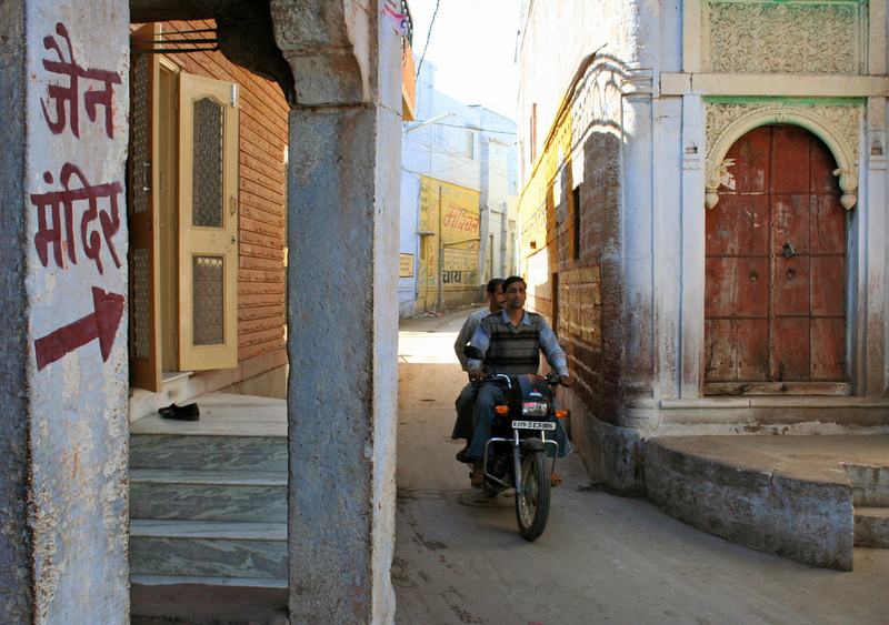 tiny streets of osian, rajasthan