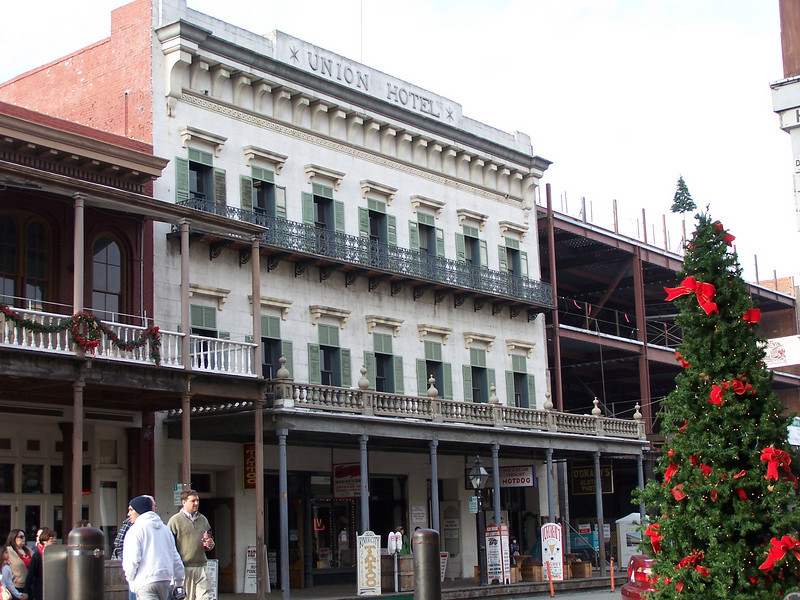 Union Hotel in Old Sacramento