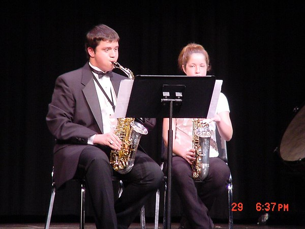 2003-04-29: Small Ensemble Concert