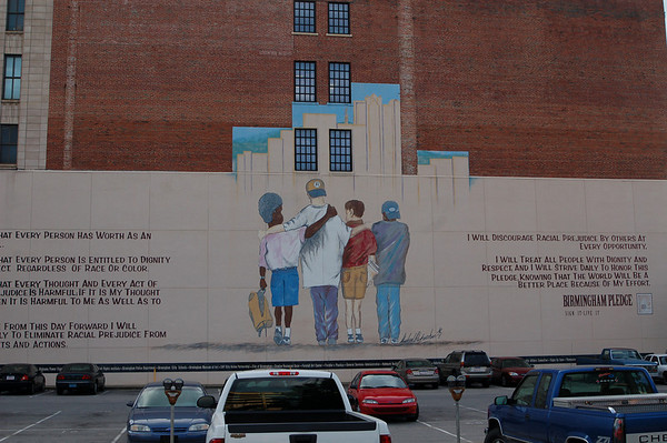 Bham Diversity Mission mural