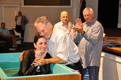 2015 October Baptism