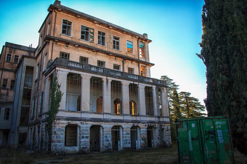 Sanatorio femminile Grola