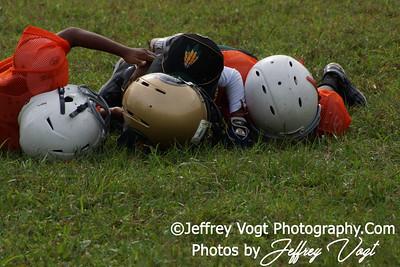 09-03-2012 Montgomery Village Sports Association vs Watkins Hornets Mighty Mites, Photos by Jeffrey Vogt Photography