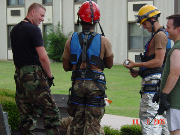 Aircraft Confined Space Rescue