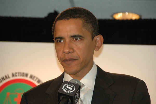 Senator Barack Obama speaks at Rev. Al Sharpton's National Action Network Convention