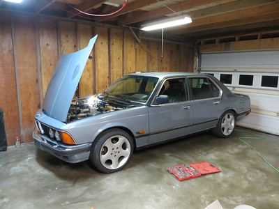 1985 BMW 745i turbo