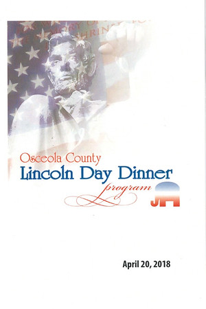 Osceola County 2018 Annual Lincoln Day Dinner