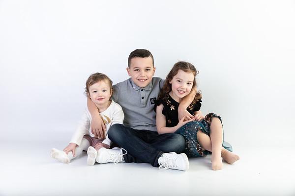 Ailsa, Rhona and Jacob