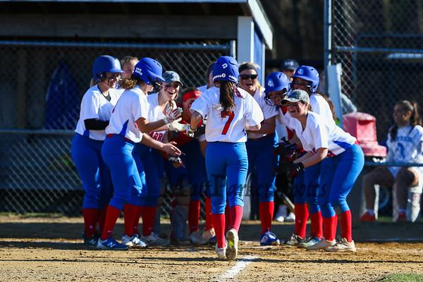 2019-4-17 WHS Girls Softball vs Concord