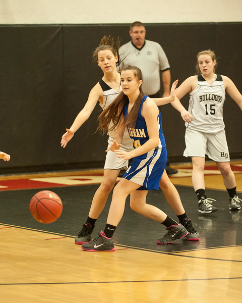 HD JV and Varsity Girls vs Mt Abram Dec 12