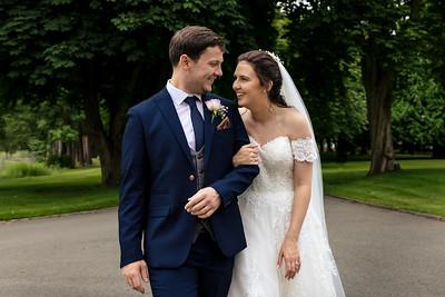 George & Amy's wedding
