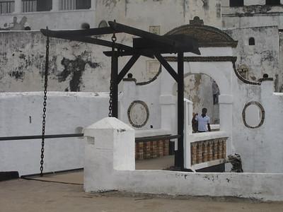 Elmina Castle (slave dungeons), Ghana, Aug. 2011