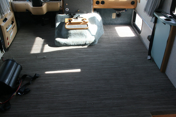 Motorhome Flooring Project